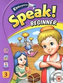 Everyone, Speak! Beginner 3 Student's Book with Workbook + Hybrid CD