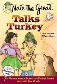 Nate the Great #25 Nate the Great Talks Turkey (Book+CD)