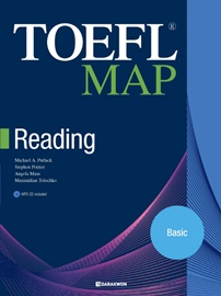 TOEFL MAP Reading Basic Student's Book with Answers and Explanations + MP3 CD