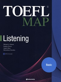 TOEFL MAP Listening Basic Student's Book with Answers and Explanations + MP3 CD