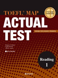 TOEFL MAP ACTUAL TEST Reading 1 Student's Book with Translation Book + MP3 CD (1)
