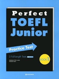 Perfect TOEFL Junior Practice Test Book 1 with Translations + MP3 CD  3 Full-Length Tests