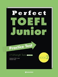 Perfect TOEFL Junior Practice Test Book 2 with Translations + MP3 CD  3 Full-Length Tests