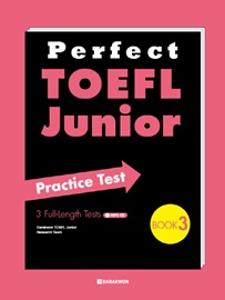 Perfect TOEFL Junior Practice Test Book 3 with Translations + MP3 CD  3 Full-Length Tests