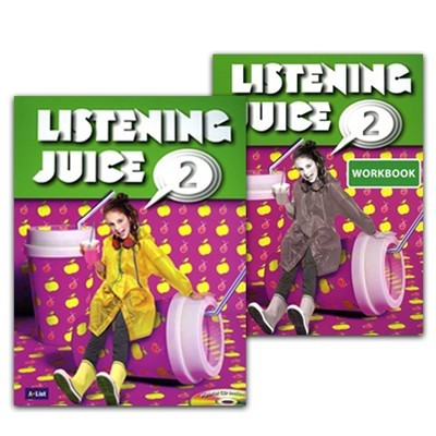 Listening Juice 2 Set (Student's Book with CD+Workbook)  [2nd Edition]