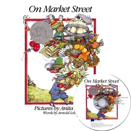 노부영 On Market Street (Paperback+CD)