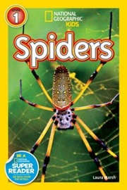 National Geographic Kids Level 1 Spiders