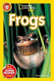 National Geographic Kids Level 1 Frogs!