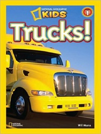 National Geographic Kids Level 1 Trucks!