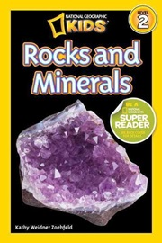 National Geographic Kids Level 2 Rocks and Minerals