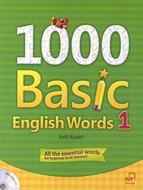 1000 Basic English Words 1 Studentbook with CD
