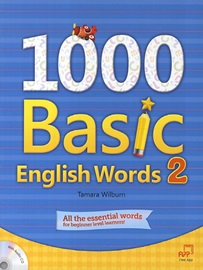 1000 Basic English Words 2 Studentbook with CD