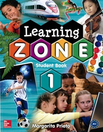 Learning Zone 1 Studentbook with MP3 Student CD