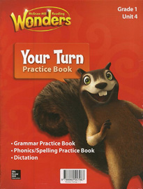 Wonders 1.4 Package (Reading/Writing Workshop with MP3 CD + Your Turn Practice Book with MP3 CD)