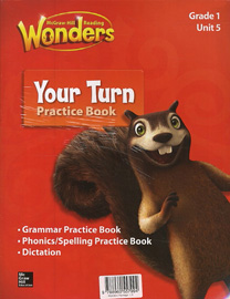 Wonders 1.5 Package (Reading/Writing Workshop with MP3 CD + Your Turn Practice Book with MP3 CD)