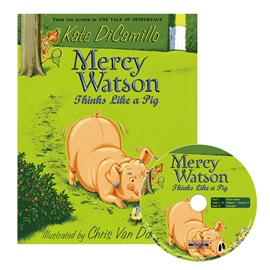 Mercy Watson #5 Thinks Like a Pig (Book+CD)