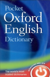 Pocket Oxford English Dictionary [11th Edition]