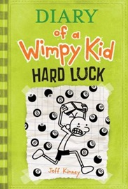 LB-Diary of a Wimpy Kid #8 : Hard Luck (paperback)