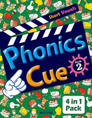 Phonics Cue 2 (Student Book + Workbook + Activity Worksheet + Hybrid CD) [개정판]