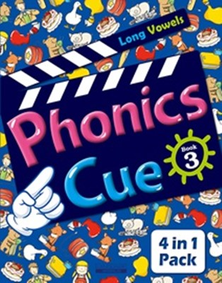 Phonics Cue 3 (Student Book + Workbook + Activity Worksheet + Hybrid CD) [개정판]