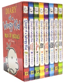 The Diary of a Wimpy Kid Boxed Set (Books #1-8)