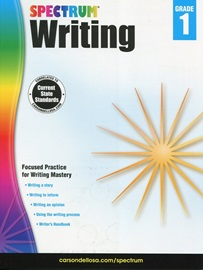 Spectrum Writing Grade 1 Student Book with Answer Key [2014 Edition]