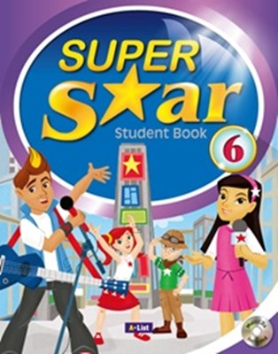 Super Star 6 Student Book with MultiCDs