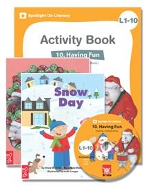 Spotlight on Literacy Level 1-10 Having Fun (2 Storybooks + 1 Activity Book + Multimedia CD)