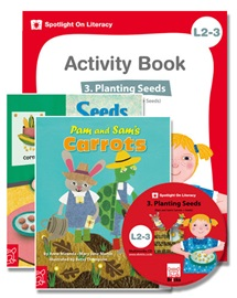 Spotlight on Literacy Level 2-3 Planting Seeds (2 Storybooks + 1 Activity Book + Multimedia CD)