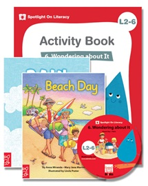 Spotlight on Literacy Level 2-6 Wondering about it (2 Storybooks + 1 Activity Book + Multimedia CD)