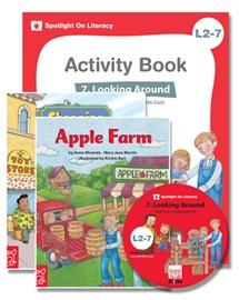 Spotlight on Literacy Level 2-7 Looking Around (2 Storybooks + 1 Activity Book + Multimedia CD)