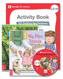 Spotlight on Literacy Level 2-10 Feeling the Seasons (2 Storybooks + 1 Activity Book + Multimedia CD)
