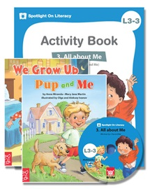Spotlight on Literacy Level 3-3 All About Me (2 Storybooks + 1 Activity Book + Multimedia CD)