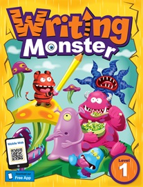 Writing Monster 1 Student Book with Portfolio Book