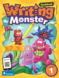 Writing Monster 1 Guidebook with Resource CD