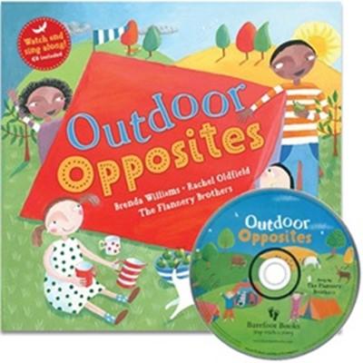 노부영 Outdoor Opposites (Paperback+Hybrid CD)