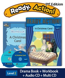 Ready Action 2 A Christmas Carol Pack (Student's Book+Workbook+CD+Multi-CD) [2nd Edition]
