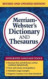 Merriam-Webster´s Dictionary and Thesaurus (Paperback/Adult)