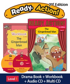 Ready Action 1 The Gingerbread Man Pack (Student's Book+Workbook+CD+Multi-CD) [2nd Edition]