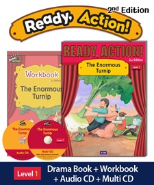 Ready Action 1 The Enormous Turnip Pack (Student's Book+Workbook+CD+Multi-CD) [2nd Edition]