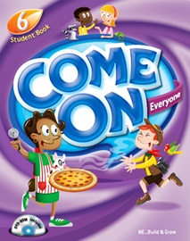 Come On Everyone 6 Student Book with DVD-ROM & MP3 CD