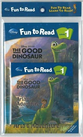 Disney Fun To Read Set 1-28 The Good Dinosaur: Arlo's Adventure (Book+Workbook+Audio CD)