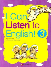 I Can Listen to English! 3 Student's Book with Audio CD