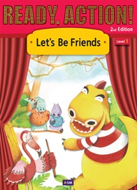 Ready Action 1 Let's Be Friends [2nd Edition]