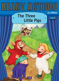 Ready Action 2 The Three Little Pigs [2nd Edition]