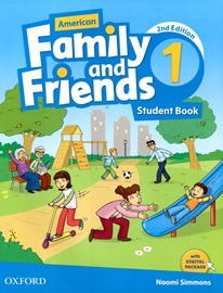 American Family and Friends 1 Student Book with Digital Package [2nd Edition]