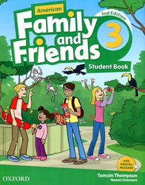 American Family and Friends 3 Student Book [2nd Edition]