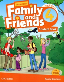 American Family and Friends 4 Student Book with Digital Package [2nd Edition]