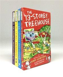 Treehouse Series Set (4 Paperbacks, 영국판)