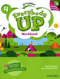 Everybody Up 4 Workbook with Online Practice [2nd Edition]